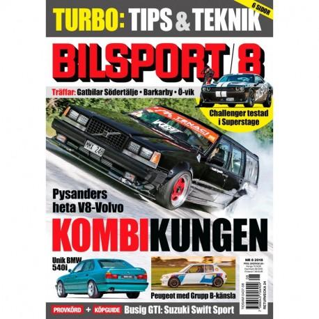 Bilsport nr 8 2018
