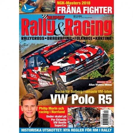 Bilsport Rally & Racing nr 12 2018