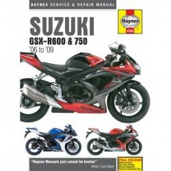 Suzuki GSX-R600 & 750 2006 - 2009