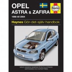 Opel Astra & Zafira 1998 - 2004