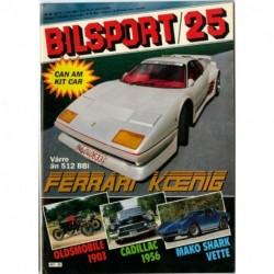 Bilsport nr 25  1983