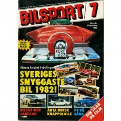 Bilsport nr 7  1982