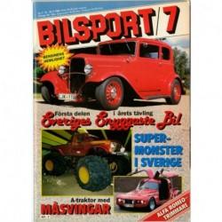 Bilsport nr 7  1984