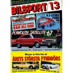 Bilsport nr 13  1989