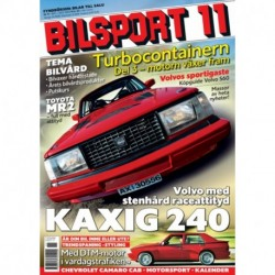 Bilsport nr 11  2005