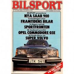 Bilsport nr 7  1978