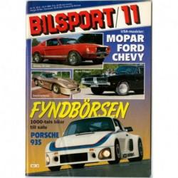 Bilsport nr 11  1984