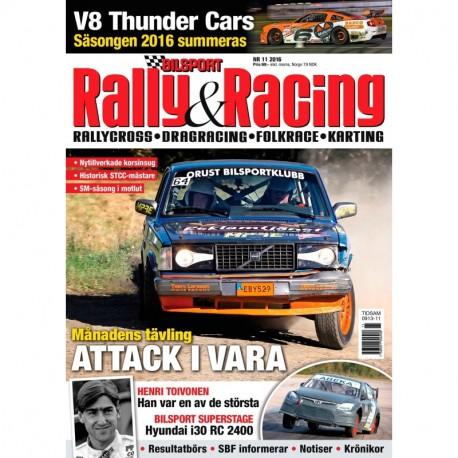 Bilsport Rally&Racing nr 11 2016