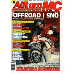 Allt om MC nr 4  1991