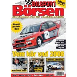 Bilsport Börsen nr 2 2008