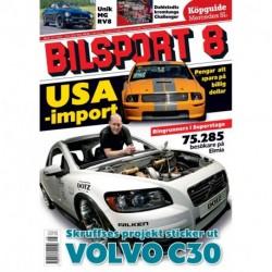 Bilsport nr 8 2008