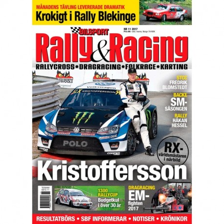 Bilsport Rally & Racing nr 11 2017